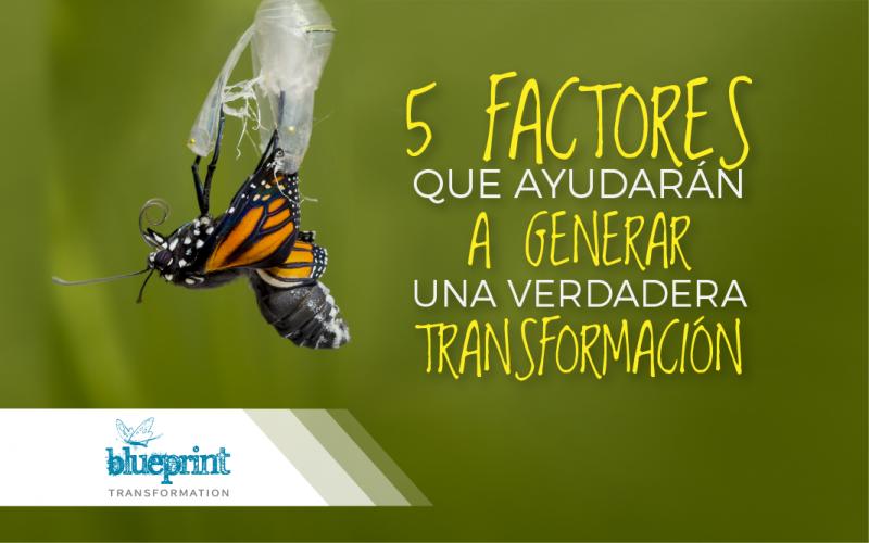 5 factores que ayudarán a generar una verdadera Transformación